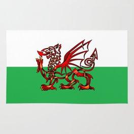 Welsh Dragon Knot Rug
