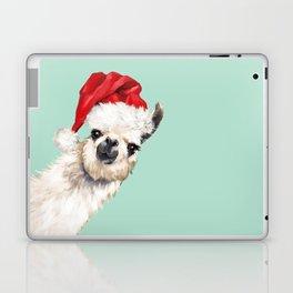 Christmas Sneaky Llama Laptop & iPad Skin