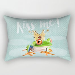 The frog prince Rectangular Pillow