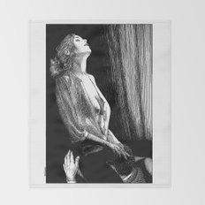 asc 674 - La visite galante (Enjoying the visit) Throw Blanket