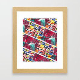 These Suuns Be Armed For Peace Framed Art Print