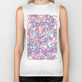 Capillary Reaction  Biker Tank