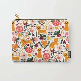 Valentine Cats Carry-All Pouch