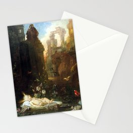 Gustave Moreau The Infant Moses Stationery Cards