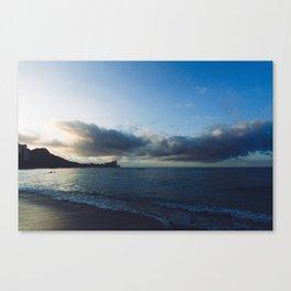 beach-morning 01 Canvas Print