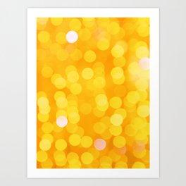 Sunny Party Disco Fever Art Print