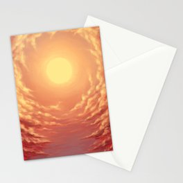 Sunswirl Stationery Cards