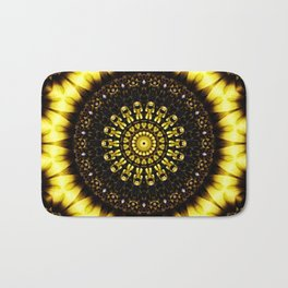Sunflower Manipulation 2 Bath Mat
