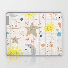 Sleepy Alphabet Laptop & iPad Skin