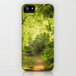 The Secret Path iPhone Case