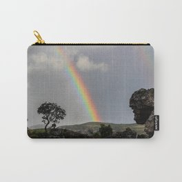 Double Rainbow Africa Landscape Carry-All Pouch