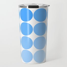 Blue Circle Color Chart Travel Mug