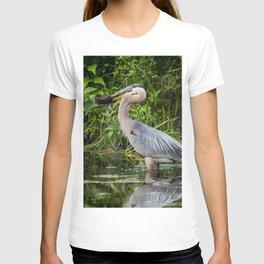 Heron's beakfast T-shirt