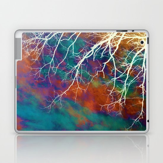 Worn Sky Laptop & iPad Skin