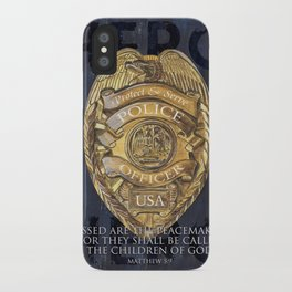 Blessed Are The Peacemakers iPhone Case