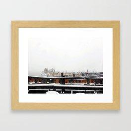 Whitehall Terminal, 2013 Framed Art Print