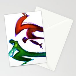 Capoeira 252 Stationery Cards
