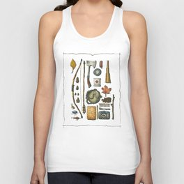 Little Camper Series No. 1 Unisex Tank Top