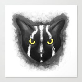 Rise of the planet of the cats Canvas Print