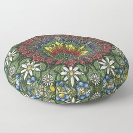 Garden Burst Floor Pillow