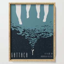 Portrait Gattaca Serving Tray