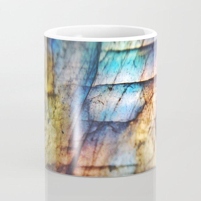 Labradorite Macro Coffee Mug