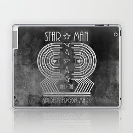 Star Man and The Spiders from Mars Laptop & iPad Skin