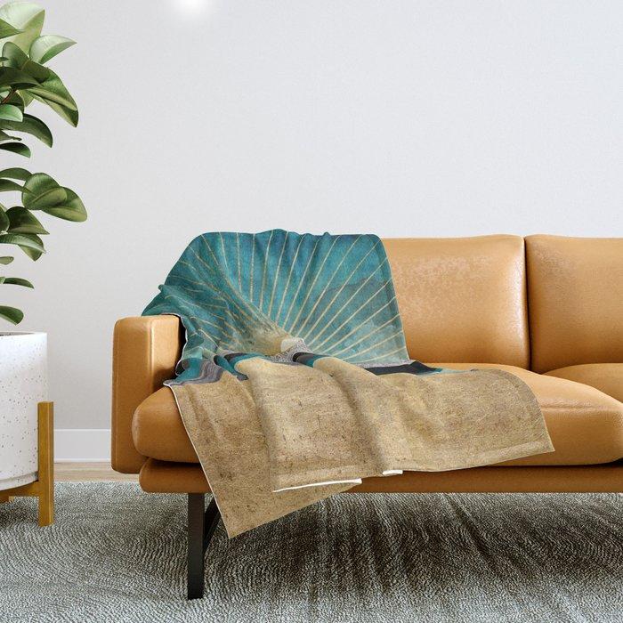 Peacock Vista Throw Blanket