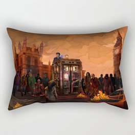 10th Doctor who trapped in the zombie land iPhone 4 4s 5 5s 5c, ipod, ipad, pillow case and tshirt Rectangular Pillow