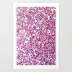 Twinkle Pink Art Print