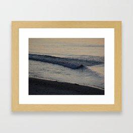 A Good Morning Wave Framed Art Print