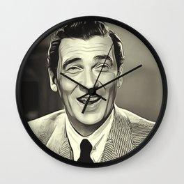 Walter Pidgeon Wall Clock