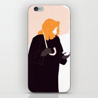 scully iPhone & iPod Skins featuring Scully by Flora