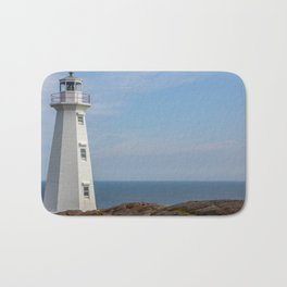 lighthouse Cape Spear Bath Mat