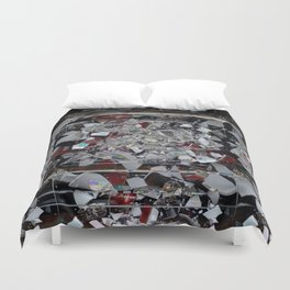 SMASHED GLITCH Duvet Cover