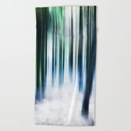 Magical Forests Beach Towel