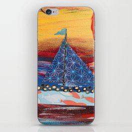 Pilgrims Journey iPhone Skin