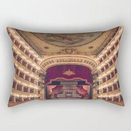 Teatro San Carlo Rectangular Pillow