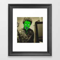 Zombie Person - 2  Framed Art Print