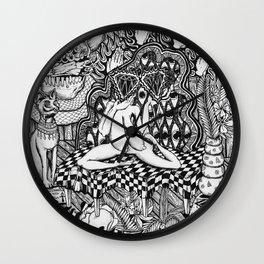 Diamond Priestess  Wall Clock