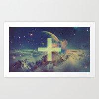 Positive Universe Art Print