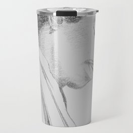 Hendrix print Travel Mug