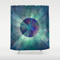 twilight Shower Curtains featuring Twilight  by SensualPatterns