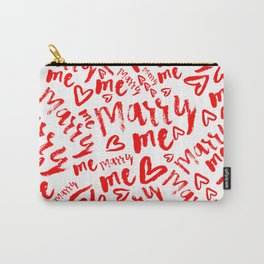 MARRY ME Carry-All Pouch