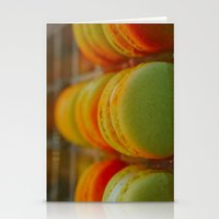 macarons Stationery Cards featuring Macarons by Chee Sim
