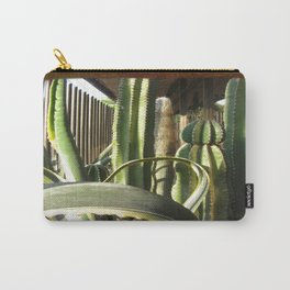 Cactus Garden Blank P3F0 Carry-All Pouch