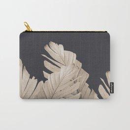 Sepia Banana Leaves Dream #3 #foliage #decor #art #society6 Carry-All Pouch