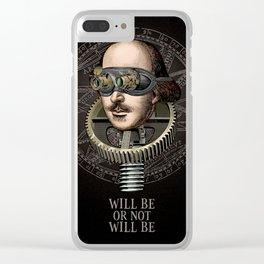 Will be or not will be Clear iPhone Case