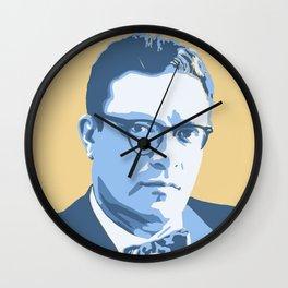 Isaac Asimov Wall Clock