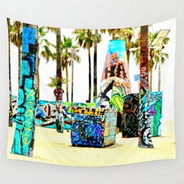 Venice Beach Dream Wall Tapestry